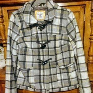 Old Navy wool blend coat size Medium
